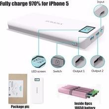 Romoss Sinn 6 Plus 20000 mah Energienbank 20000 mah 2.1A Voltiq Schnellladung für Xiaomi Samsung Huawei Oneplus Telefon Universal