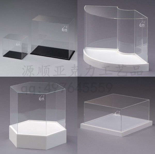 acrylic plexiglass box cover model mechanical cover dust cover box custom jewelry display box