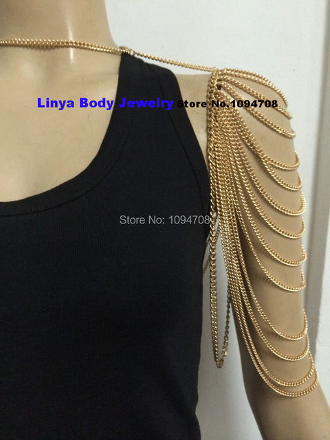 waist body womens belly fashion bikini chain product beach gold necklace harness sexy