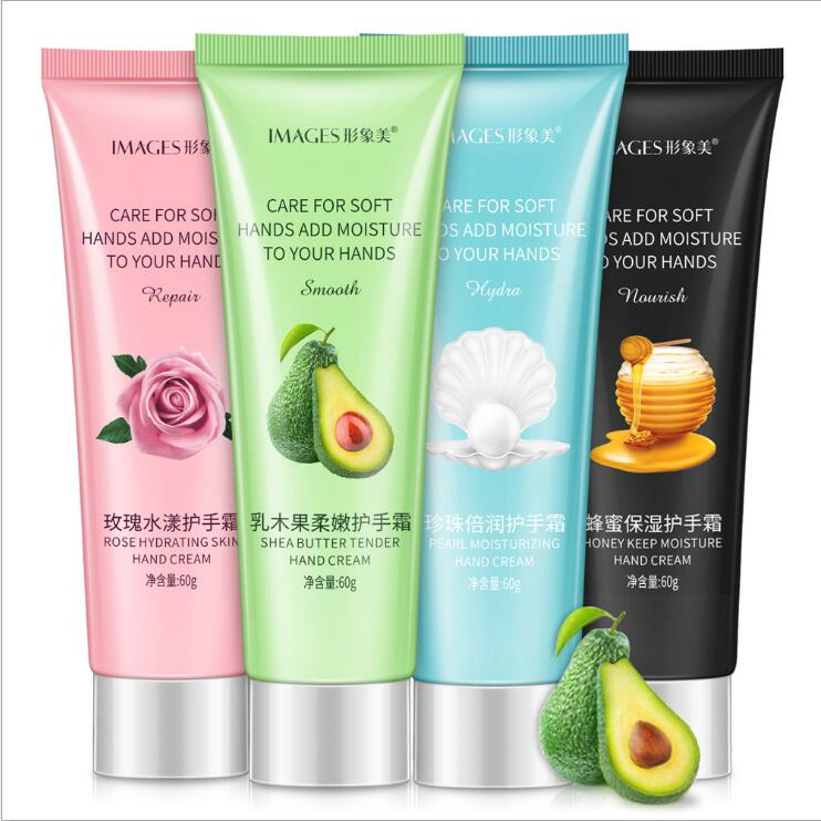 60g Fruit Nourish Hand Cream Moisture Nourishing Anti Chapping Whitening Hand Lotion