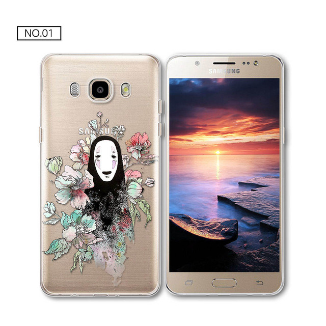 Totoro soft silicone TPU cover 2017 new arrivals For S7 Edge J1 J5 J7 A3 A5 S7