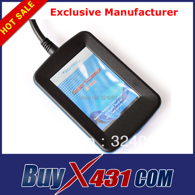 5pcs/lot Super Scanner ET801 OBD2 Code Reader OBDII Scan Tool for Series 1, 3, 5, 6, 7, 8, X, Z From 1997 to 2008 + DHL Free