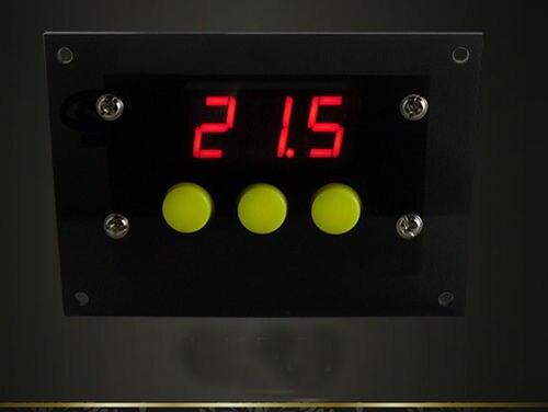 Мини-Контроллер Температуры-50 ~ 110 Градусов Celsius Цифровой Термостат DC/AC 12 В Разность Температур Холодный/тепла автомобиля Переключения