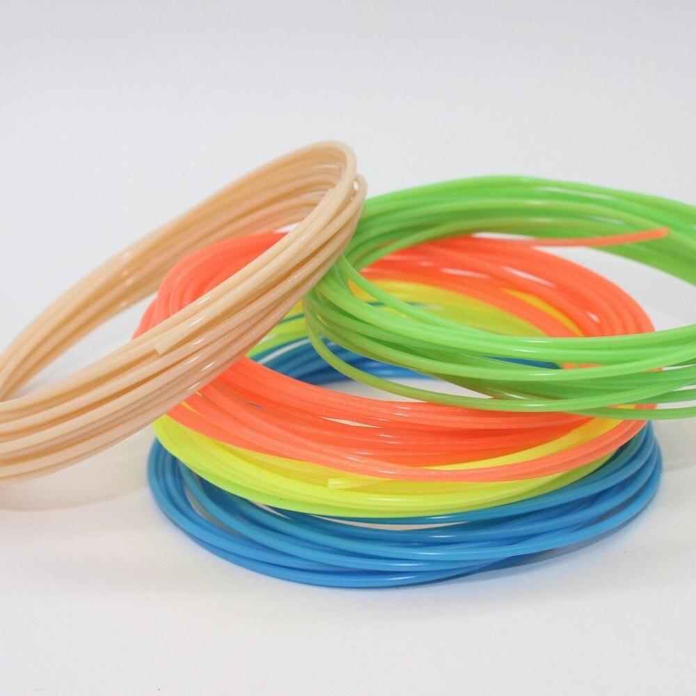 """עמיד חוזק גבוה 3D נימה PLA אספקת 1.75 מ""""מ 3D מדפסת נימה הדפסת חומר עבור 3D הדפסת עט 3D מדפסת"""