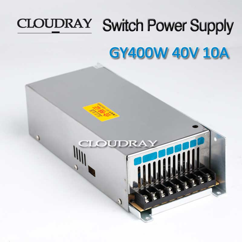 f5f5da15ac7c67 Cloudray Switching Power Supply 40V 10A 400W For CNC Engraving 57 Stepper  Motor Driver CNC Laser Engraving Cutting Machine