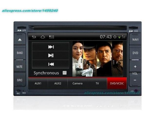 For Hyundai Verna 2005 2010 Car Android GPS Navigation font b Radio b font TV DVD
