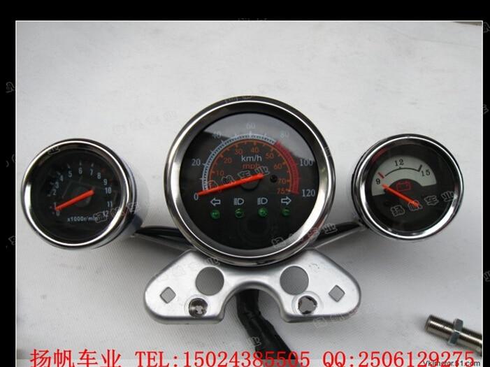 ФОТО motorcycle speedometer odometer refit atv speedometer motorcycle gear indicator speedometer for atv 150cc free shipping