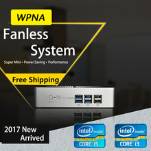 WPNA Ordinateur Bureau Nettop intel n3150 i3 i5 5005U 5200U HD Graphics 5500 HDMI WIFI mini pc windows Tout En un