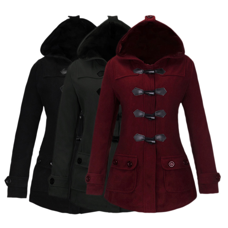 Womens Hooded Pea Coat - All The Best Coat In 2017