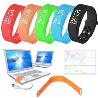 W6 Sports Sleep Health Pedometer Smart Wearable Wristband Emperature Display Wristband Watch Bracelet for IOS Android Wholesale