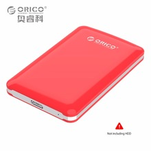 ORICO Tool Free HDD/SSD External Hard Disk Drive Enclosure USB 3.0 to SATA3.0 5Gbps 2.5 Inch Box Ide Case 2TB(Not including HDD)