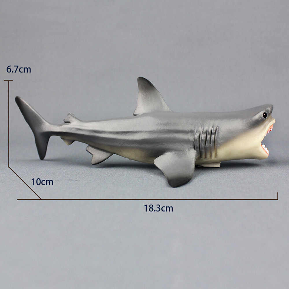 Animal Figures Megalodon Prehistoric Shark Ocean Collection Educational Toy  Action Figure Model Kids Toy For Kid Children Gift