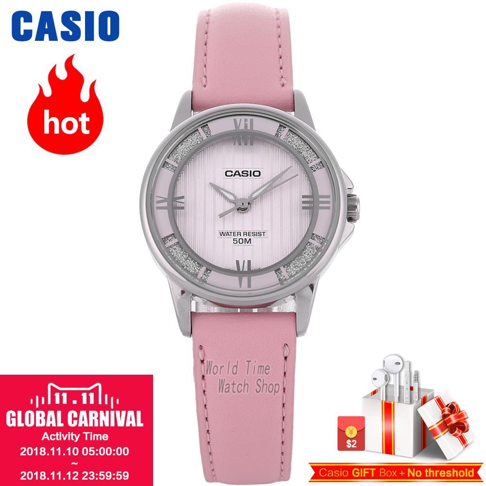 Casio watch ladies watch elegant and noble pointer series waterproof quartz watch LTP-1391L-4A2 LTP-1391L-2A LTP-1391L-5A цена и фото