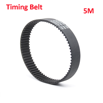 HTD 5M Black Rubber Closed Loop Timing Belt Synchronous Belt Length 1090 1100 1105 1115 1120 1125 1135mm Wideth 15 20 25 30mm image