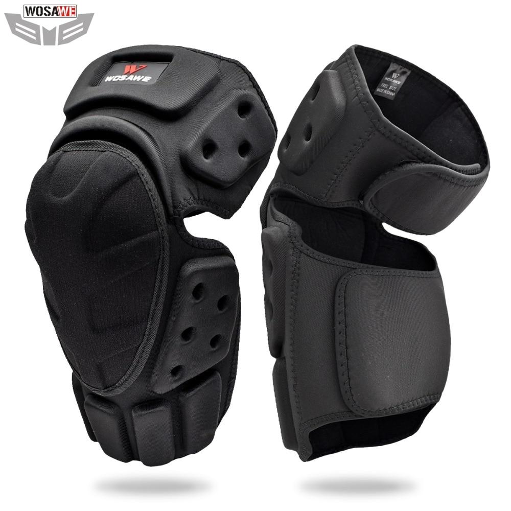 WOSAWE Motorcycles Knee Protector Shin Guard Motocross Knee Brace Support Kneepad Leg Warmer Skating Skateboard Knee Pads