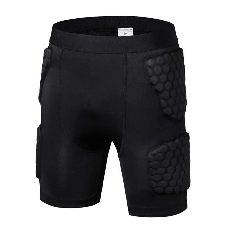 2018 Safety Honeycomb Tight Fitness Anti Collision Shorts Basketball Sports Anti Compression Shorts Sportswear