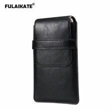 Универсальная сумка FULAIKATE для мужчин, тонкая поясная сумка для Xiaomi Max3, Huawei Honor 8X Max, 7,2 дюйма, несколько размеров