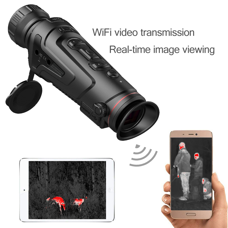 50mm lens best night vision scope for hunting infrared thermal imaging telescope long range scout rescue infrared thermal imaging scope