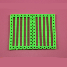 10pcs 75x60mm Function panel/DIY car shell plate/plastic plate/science experiments materials/toy accessories