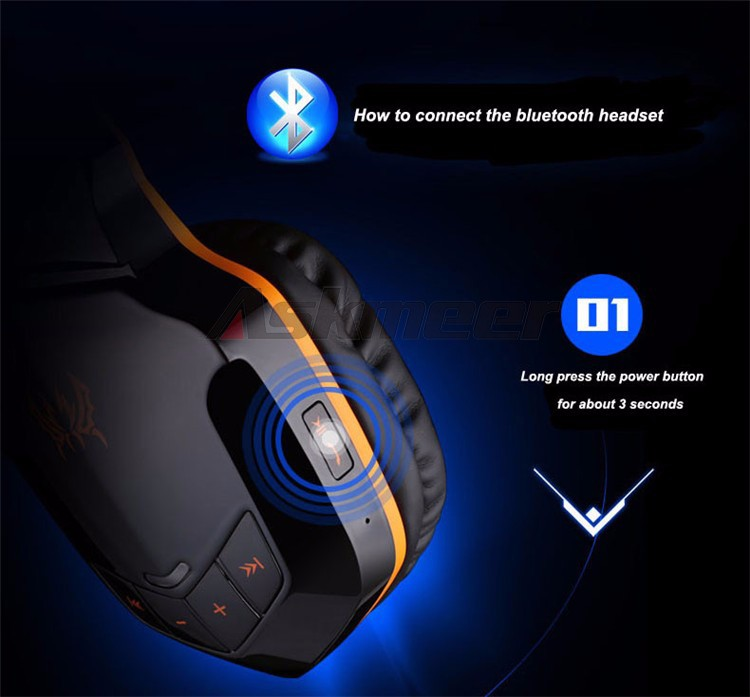 EACH B3505 Wrieless Bluetooth 4.1 Stereo Headphone Headband Earphone Headset with Mic for iPhone 6iPhone6 Plus Samsung (14)