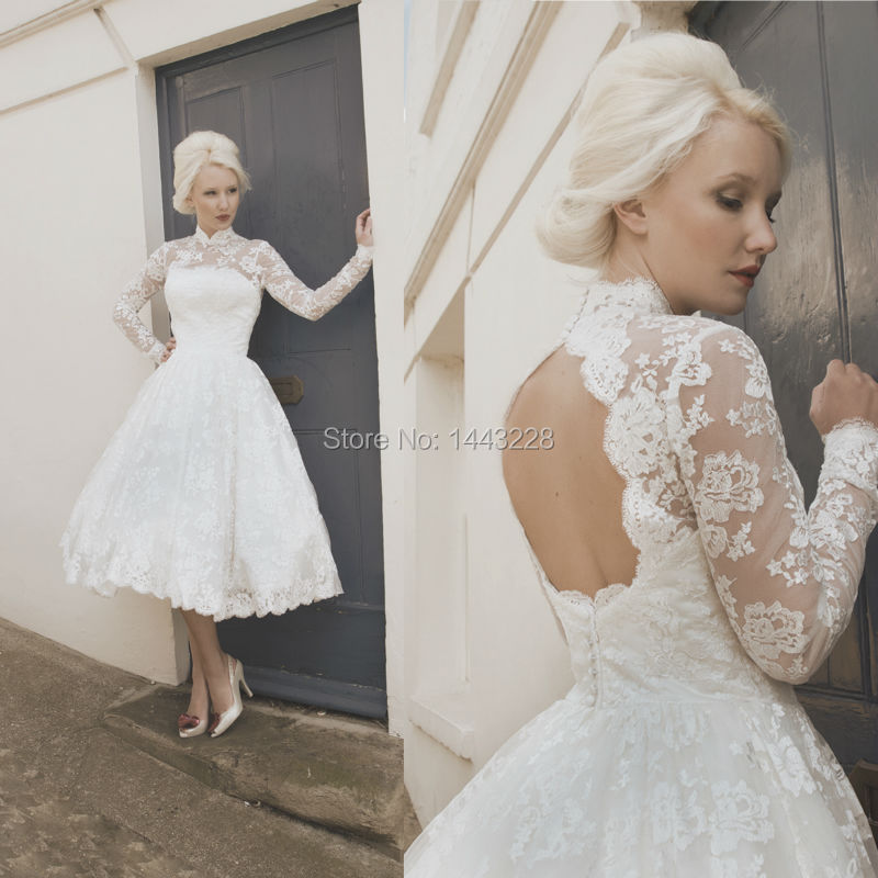 50s Lace Wedding Dress