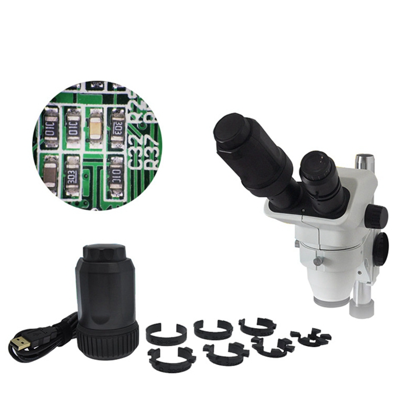 Auto Focus 8.0MP Electronic Eyepiece USB Video CMOS Digital Industrial Eyepiece Camera Image Capture for Microscope Telescope цена