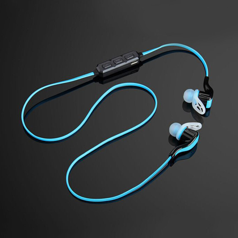 ФОТО Bluetooth Headset Wireless Sport Bluetooth Earphone with Mic Noise Cancelling Headset HIFI Sweatproof Earbuds BP18