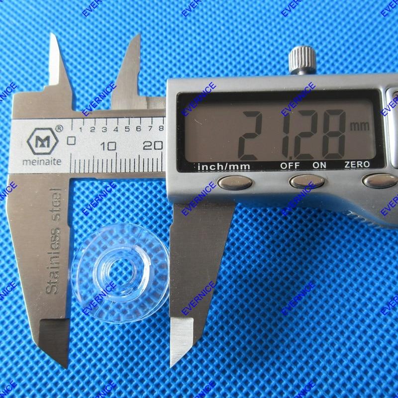 1+ Clear Concave 4120975-45 20 Pcs Bobbins for Viking #1