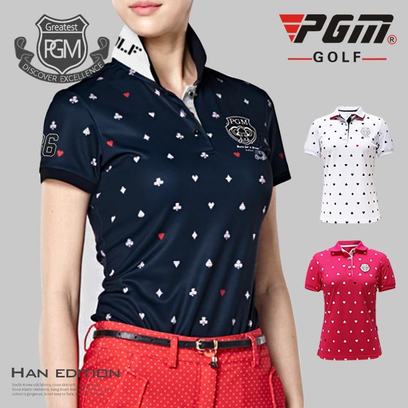 2017 produk baru! Memakai golf gaya PGM baru, kaus oblong, kaus golf - Pakaian olahraga dan aksesori