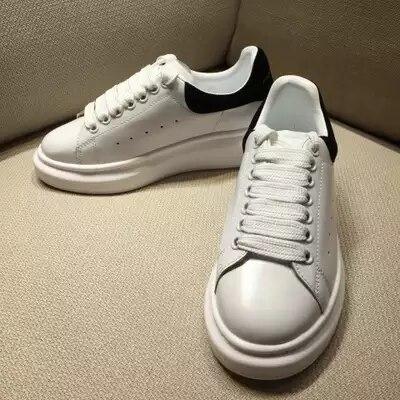 Noir Blanc Confortables 4 5 Casual 2018 Haute 6 3 Plat Chaussures Marque De 35 1 Rose 9 2 Qualité 8 7 10 Femmes 43 xFR0z8