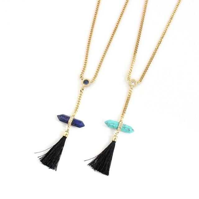 Chicvie этнические ожерелья с кисточками для женщин Длинные