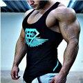 Estilo verão Regatas Undershirt Men Splice Vest Singletos Bodybuliding 2016 Nova Marca dos homens de Alta Qualidade da Marca Dos Homens Sem Mangas