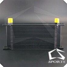 Refroidisseur dhuile en alliage 10 AN, 19 rangées, système de refroidissement pour voiture universelle, système de refroidissement AN10, puissant série Turbo, installation directe