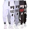 Calças Largas Casual Calças Sweatpants Jogger Dança Sportwear dos homens Suave Fresco