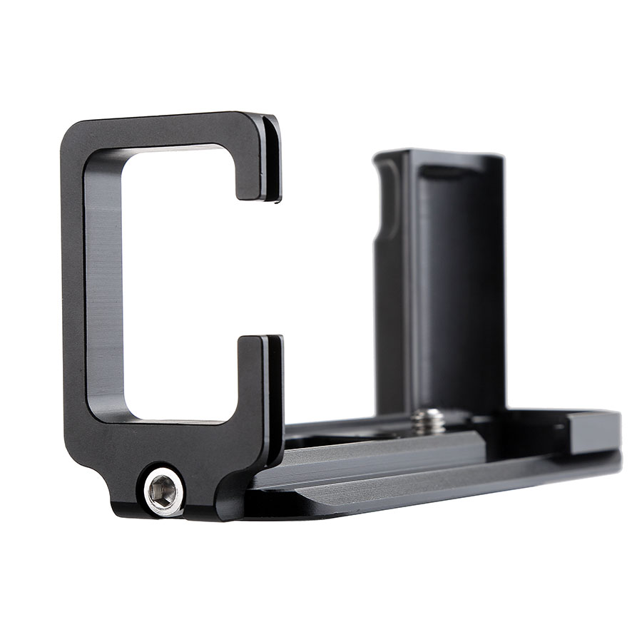 Quick Release Plate Hand Grip L-plate Holder Bracket with 1/4 Screw for Fujifilm XT10 XT20 Digital Camera Tripod Head