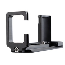 Camera Tripod Head Quick Release Plate Hand Grip L-plate Holder Bracket 1/4 Screw Mount for Fujifilm Fuji X-T10 XT10 Camera vertical l plate type bracket tripod quick release plate base grip hand for fujifilm xt3 fuji x t3 camera ball head