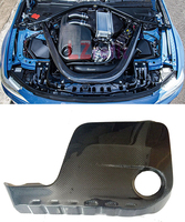 Real Carbon Fiber Engine Cover For BMW F80 M3 F82 F83 M4 2014UP