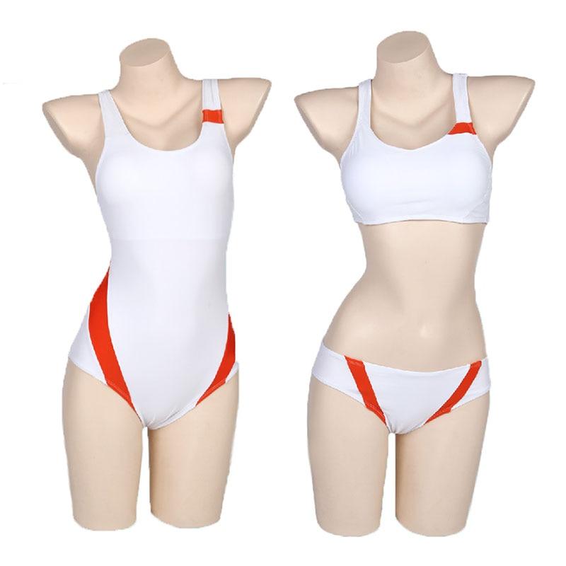 Anime DARLING in the FRANXX zero two cosplay costume Swimsuit 02 ICHIGO cosplay swimming suit women Swimwear men pant