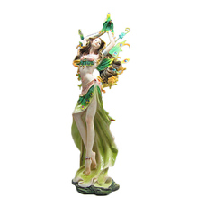 European home decoration flower fairy art sculpture crafts handmade ornaments creative home accessories furnishings