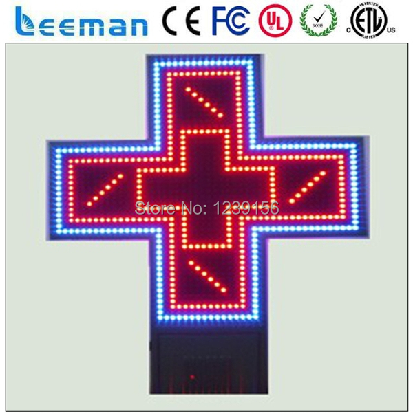 Leeman Iron Cabient Programmable Red And Green Double Colors Cross