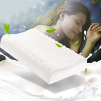 Natural Latex Pillow Granule Massager Soft Massage Pillows for Sleeping Orthopedic PillowBreathable Mute Anti mite Antibacterial