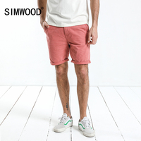 SIMWOOD New Arrive 2018 Summer Shorts Men Knee Length Cotton Shorts Fashion Casual High Quality Slim