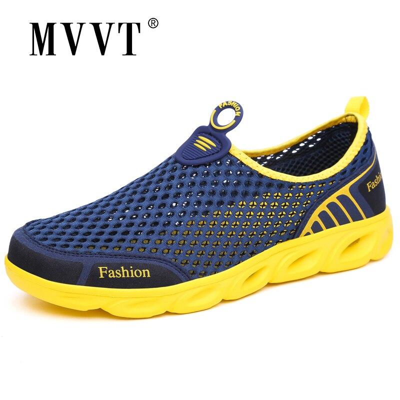 2019 Unisex light summer shoes men breathable mesh casual shoes comfort men flats quality outdoor shoes men walking shoes