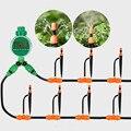 20 mt Zerstäubung Micro Sprinkler Wasser Timer Tropf Bewässerung Ausrüstung Familie Balkon Garten Timing Automatische Bewässerung Kits