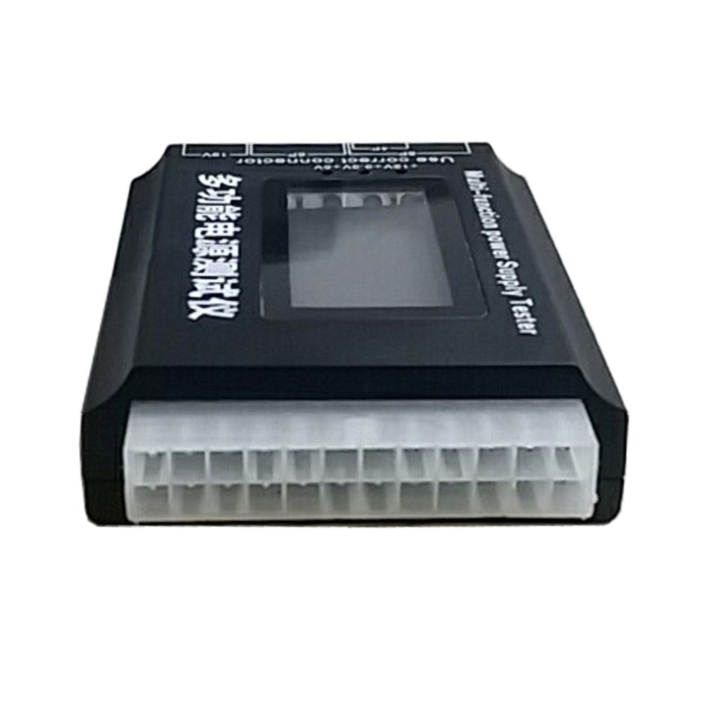 Power Supply Tester LCD Display Screen Computer Case Diagnostic Tester