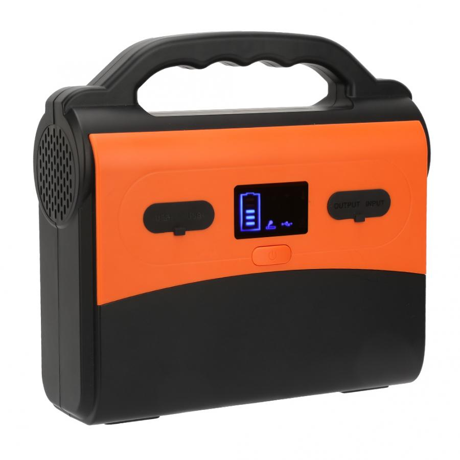 Portable Solar Generator with 36Ah Battery Capacity for Online UPS/Emergency Backup Power Supply 5