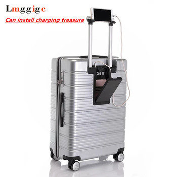 Chargeable Rolling Travel Luggage Bag