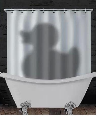 New Shadow Of The Duck Shower Curtain Bath Bathroom Bathtub Curtain Best  Decoration