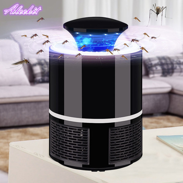 USB Photocatalys Mosquito Killer Lamp LED Electronics Mosquito Killer Fly Bug Trap Lamp Insect Bug Repeller Zapper Pest Control
