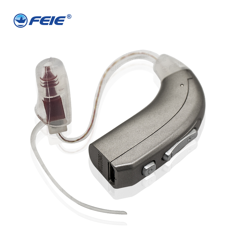 Newest Rechargeable Hearing Aid Auidphones MY-33 Microphone Amplifier To Profound Deaf Aids A Kit Double Pieces hf 0 56 red lcd 2 0 4 digital thermostat temperature controller dark blue black 24v